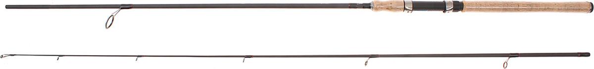 Спиннинг штекерный Волжанка Метеор, 2 секции, 1096686, черный, 2,4 м, 10-35 г