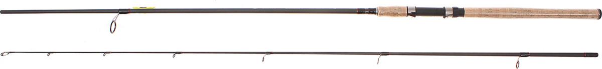 Спиннинг штекерный Волжанка Метеор, 2 секции, 1096690, черный, 2,7 м, 15-45 г1096690Спиннинг Метеор предназначен для ловли крупной хищной рыбы на озёрах и реках со средним или быстрым течением. Данная модель оснащена пропускными кольцами с карбоново-кремниевыми вставками, удобным катушкодержателем и пробковой рукоятью. Спиннинг изготовлен с использованием графита марки IM-6 и высокомодульного стекловолокна марки HMG-45, что гарантирует долговечность изделия.Для комфортной транспортировки производители торговой марки Волжанка, предусмотрели чехол из непромокаемого материала - возьмите Метеор с собой куда угодно и не беспокойтесь о сохранности изделия.Длина спиннинга: 2,7 м.