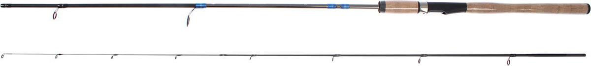 Спиннинг штекерный Волжанка Джиг, 2 секции, 1363239, черный, 2,4 м, 3-15 г