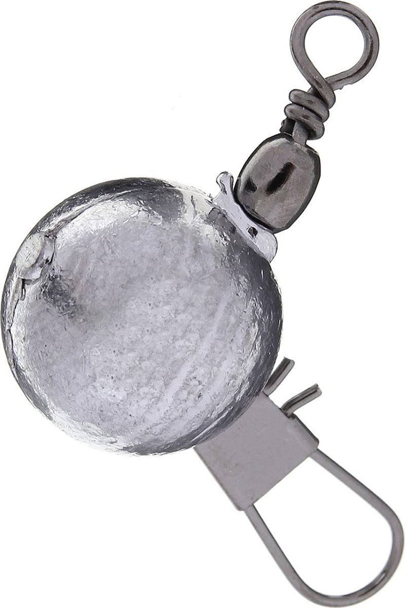 Грузило Zaмануха Чебурашка, с карабином, 1407708, 18 г, 20 шт