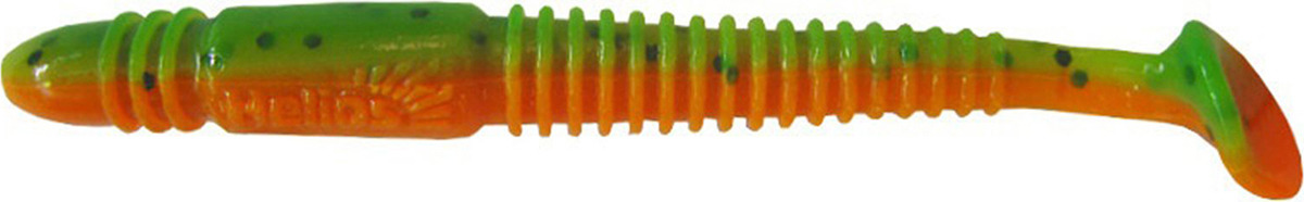 Виброхвост Helios Minoga 9,5 см HS-17-018, 1444990, разноцветный, 5 шт