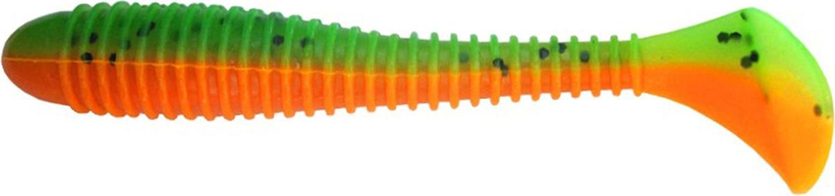 Виброхвост Helios Catcher 9 см HS-2-018, 1445057, разноцветный, 5 шт