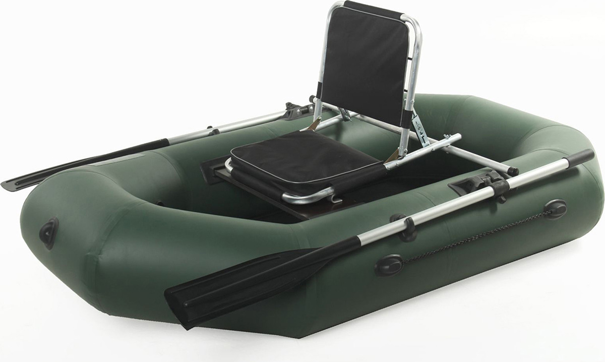 Купить Сиденье для лодки Медведь туризм, с регулируемой спинкой, 2151898, черный на XWAP.SU