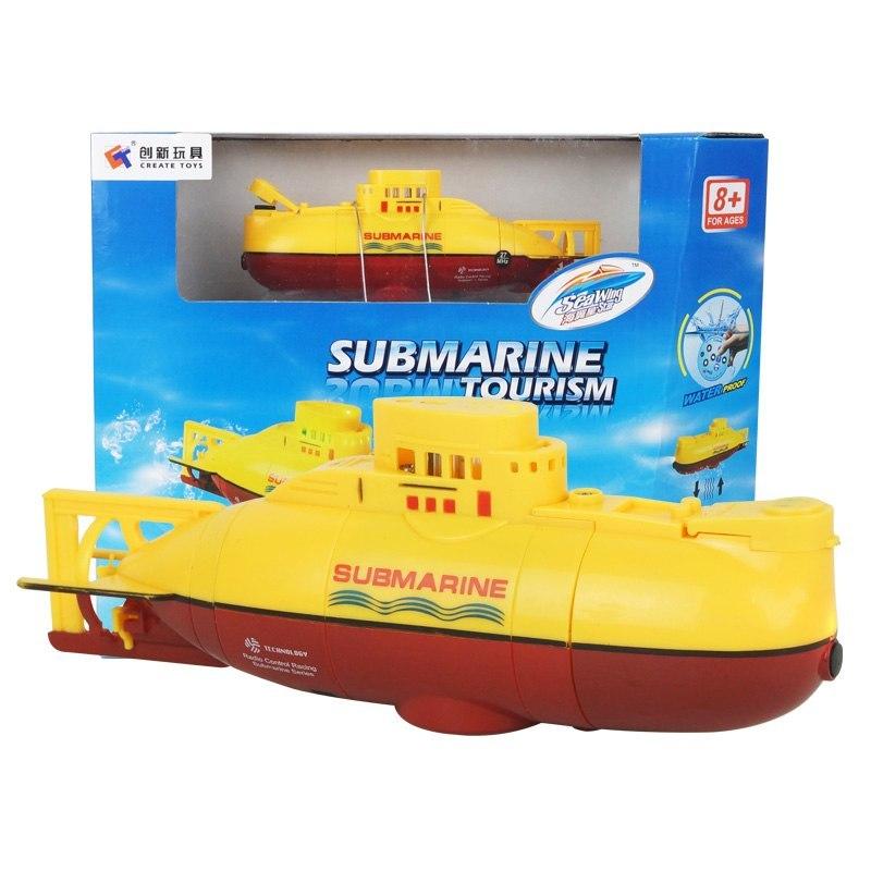 Подводная лодка радиоуправляемая BlueSea 3311 желтый цена