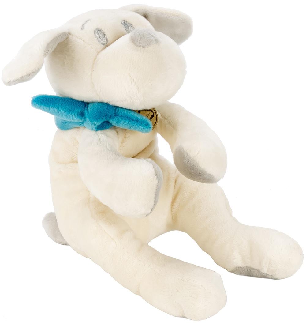Мягкая игрушка Lapkin Собака 15см белый/бирюзовый (AT365198)