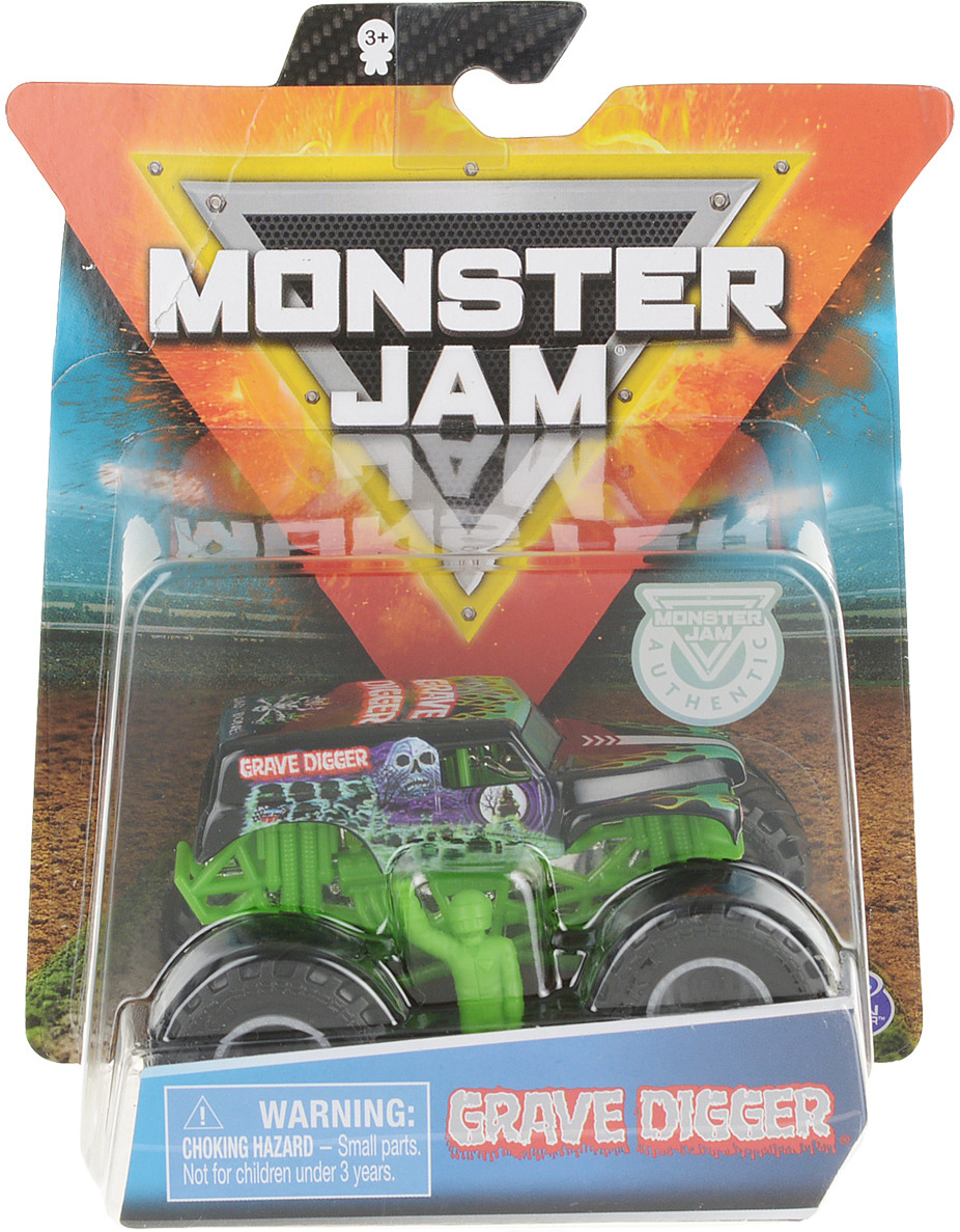 Машинка Monster Jam Figures GraveDigger, 6044941_20103399 1 6 scale asian mens head sculpt for 12 inches male bodies figures dolls