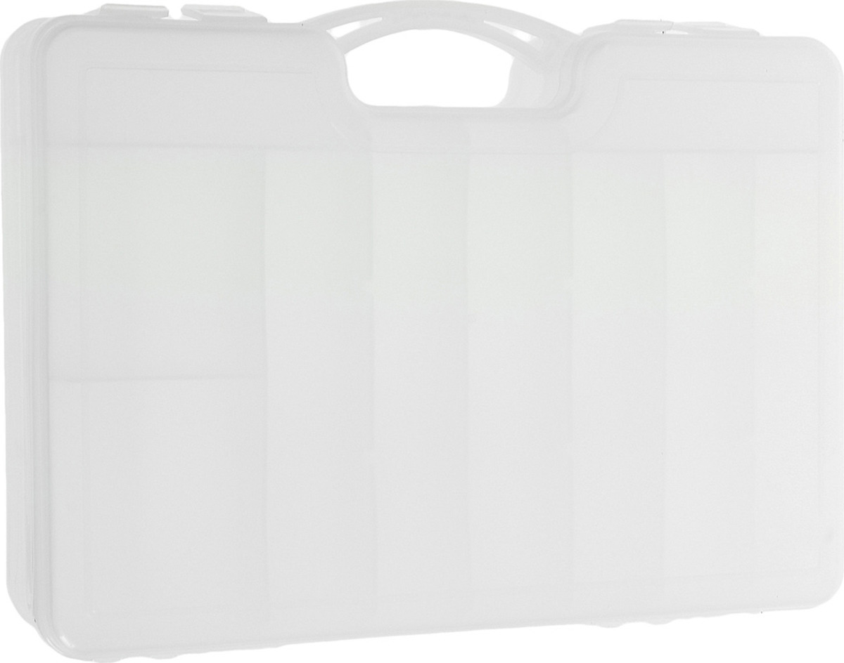 Органайзер рыболовный Три кита КД-1, 1110643, белый, 29 х 21 х 6 см