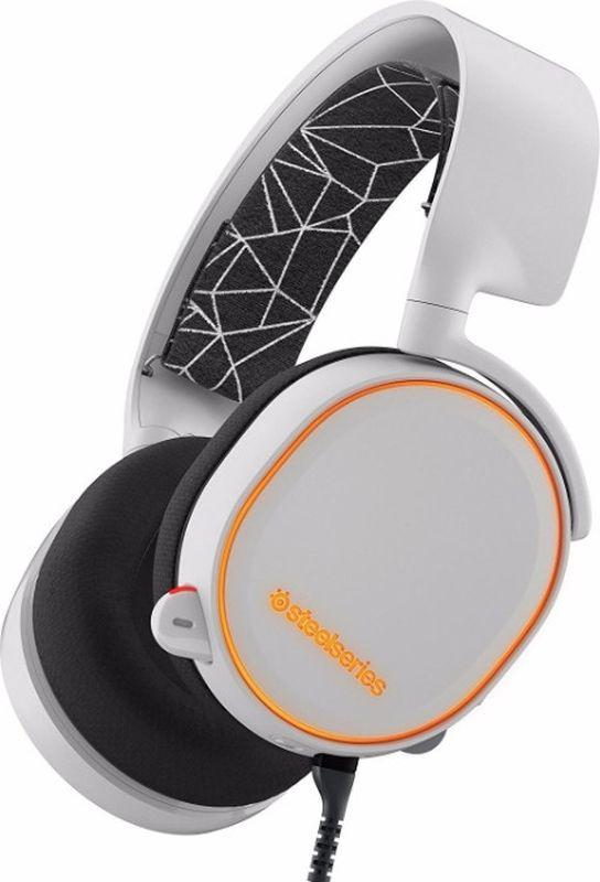 SteelSeries Arctis 5, White игровые наушники наушники с микрофоном steelseries arctis 5