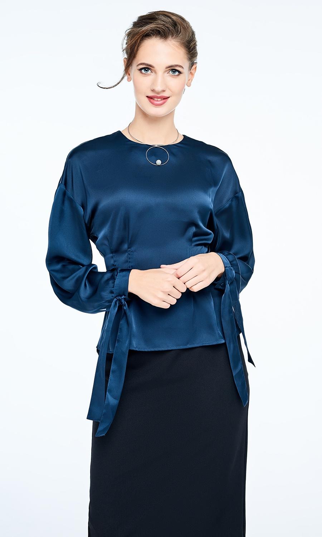 Блузка Valkiria солнышко и цвета на завязках