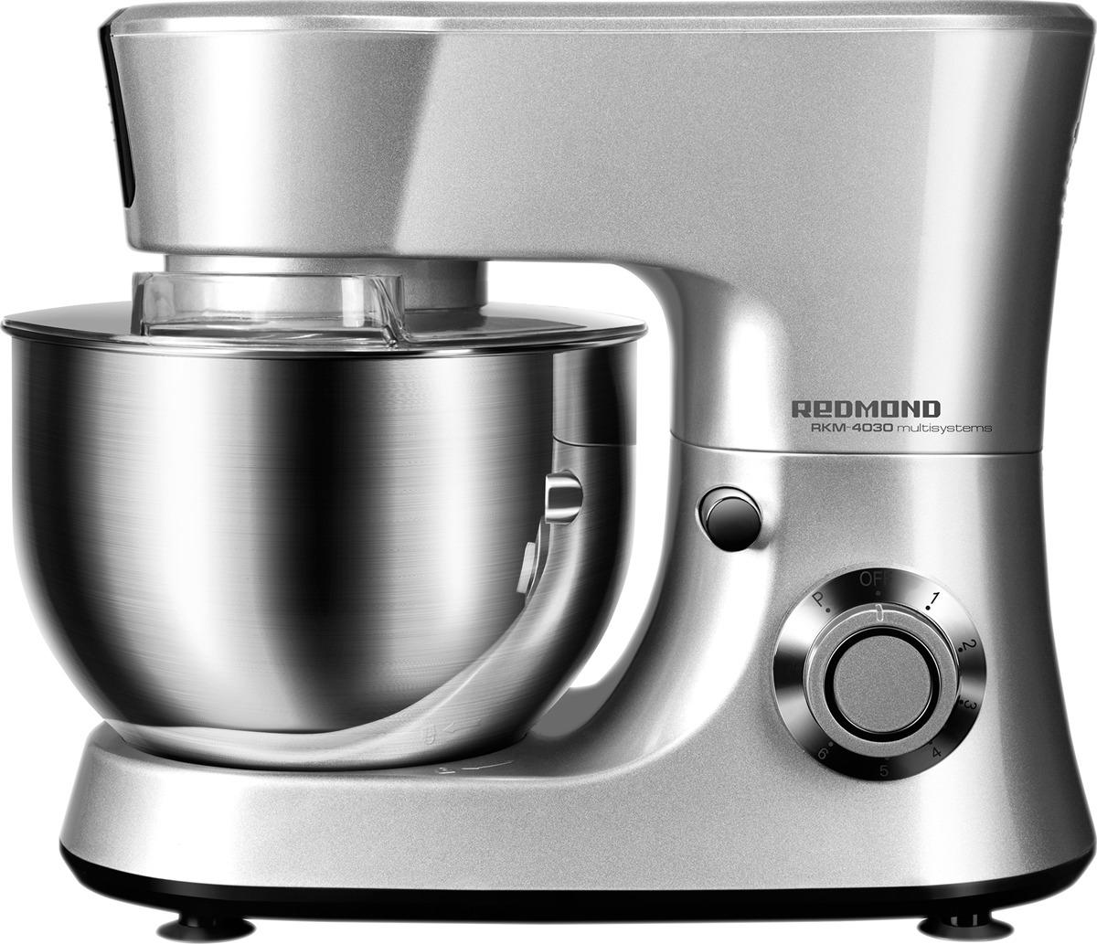 Кухонный комбайн Redmond RKM-4030, серый металлик