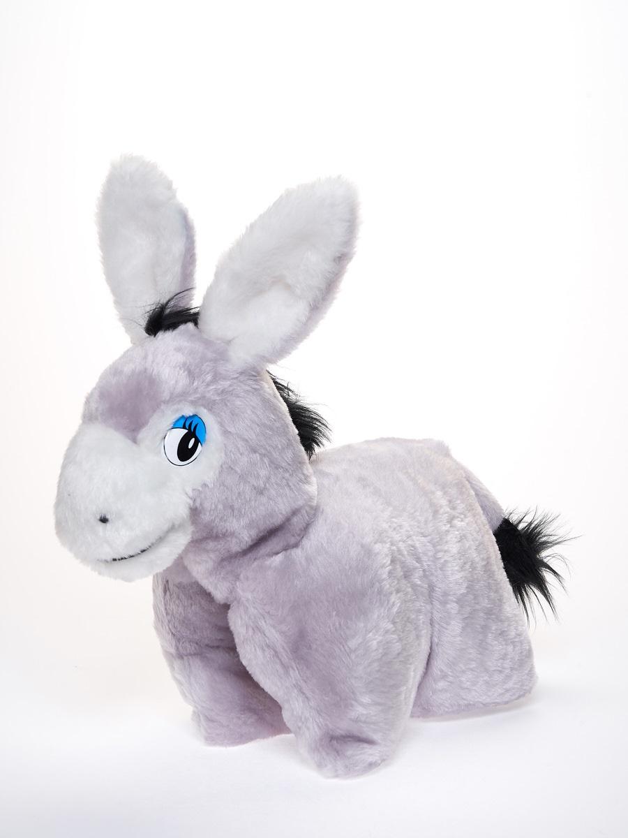 Мягкая игрушка Радомир С986/осликсоня серый