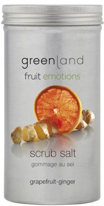 Скраб Greenland соляной, грейпфрут-имбирь, 400 г цена в Москве и Питере