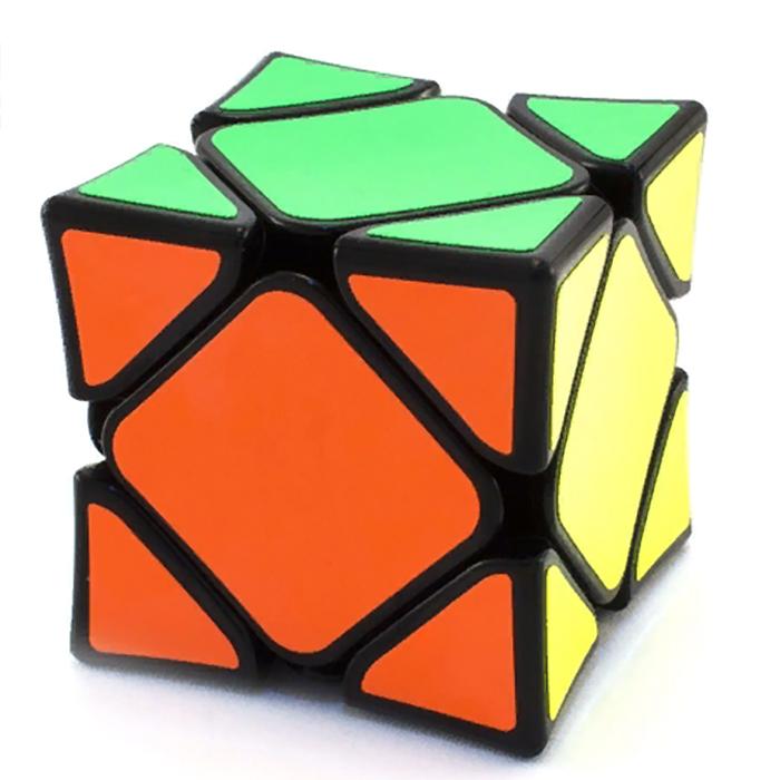 Головоломка MoFangGe Кубик X-Man Wingy Skewb (black) головоломка mofangge кубик x man 7x7 spark magnetic