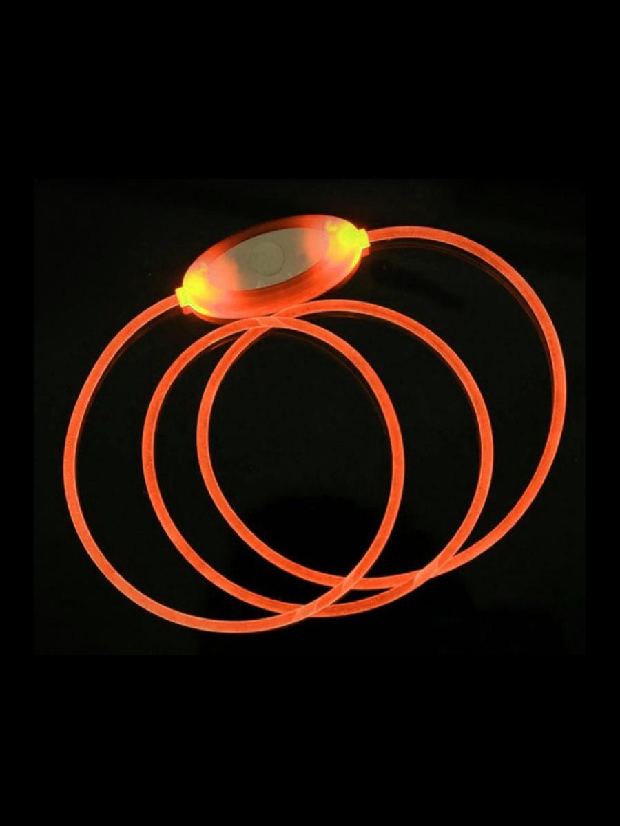 Ошейник Pets & Friends PF-LCS-02, оранжевый