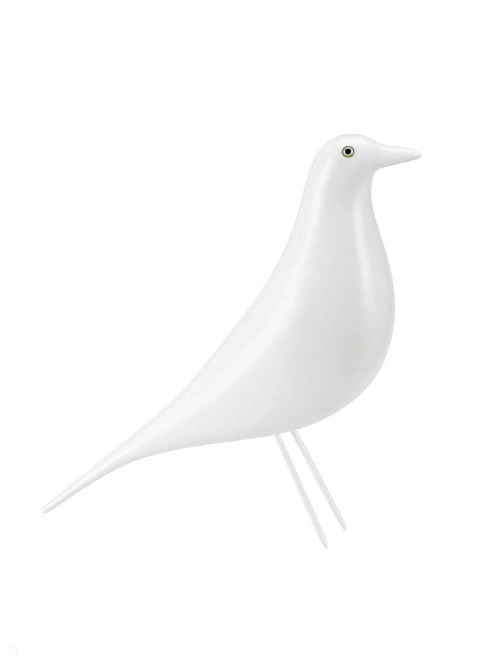 Статуэтка Terra Design House Bird Eames style, белый кресло eames style lounge chair