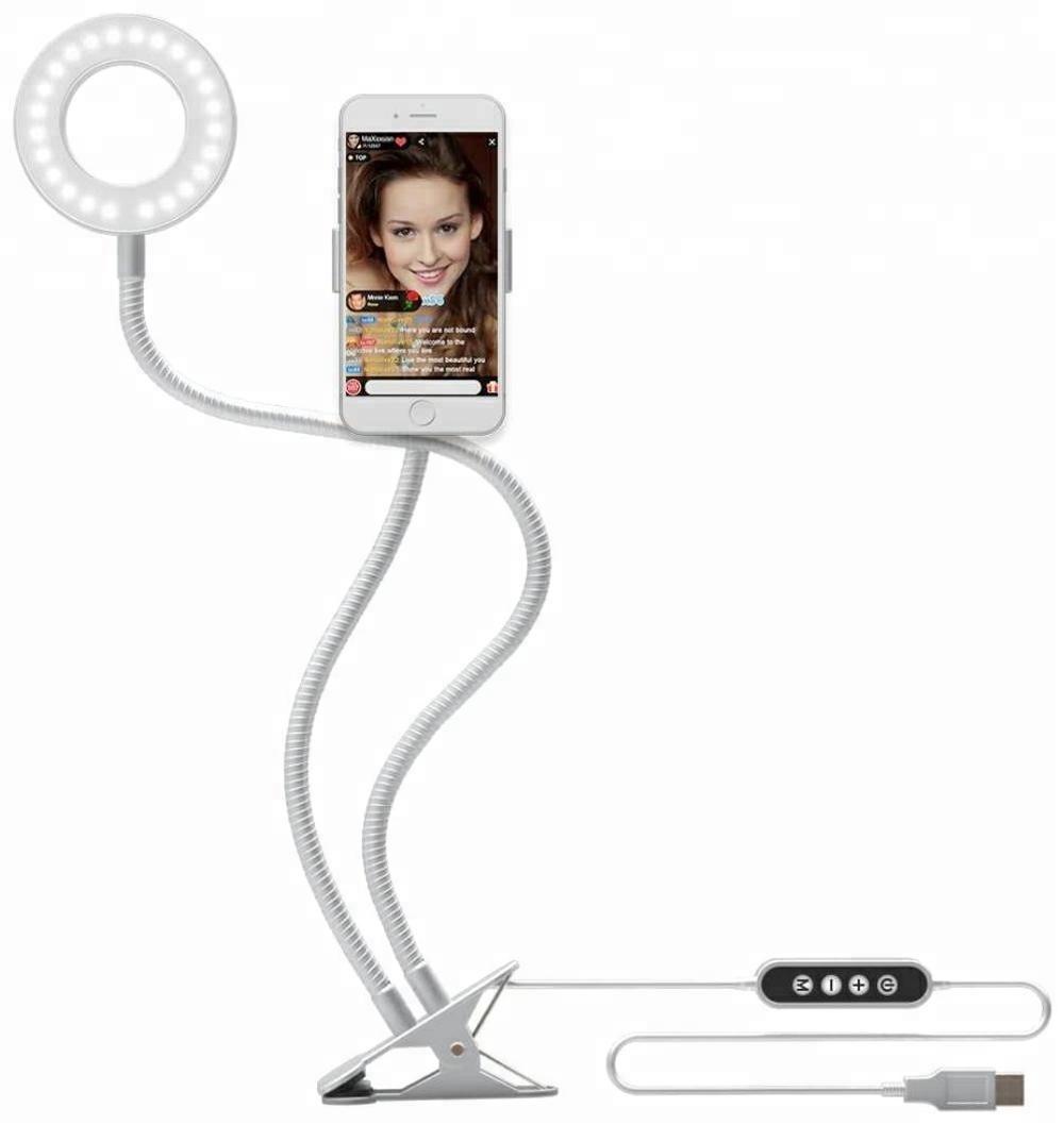 Фото - Свет для мобильной фото/видео съемки ZUP Professional Live Stream, белый видео