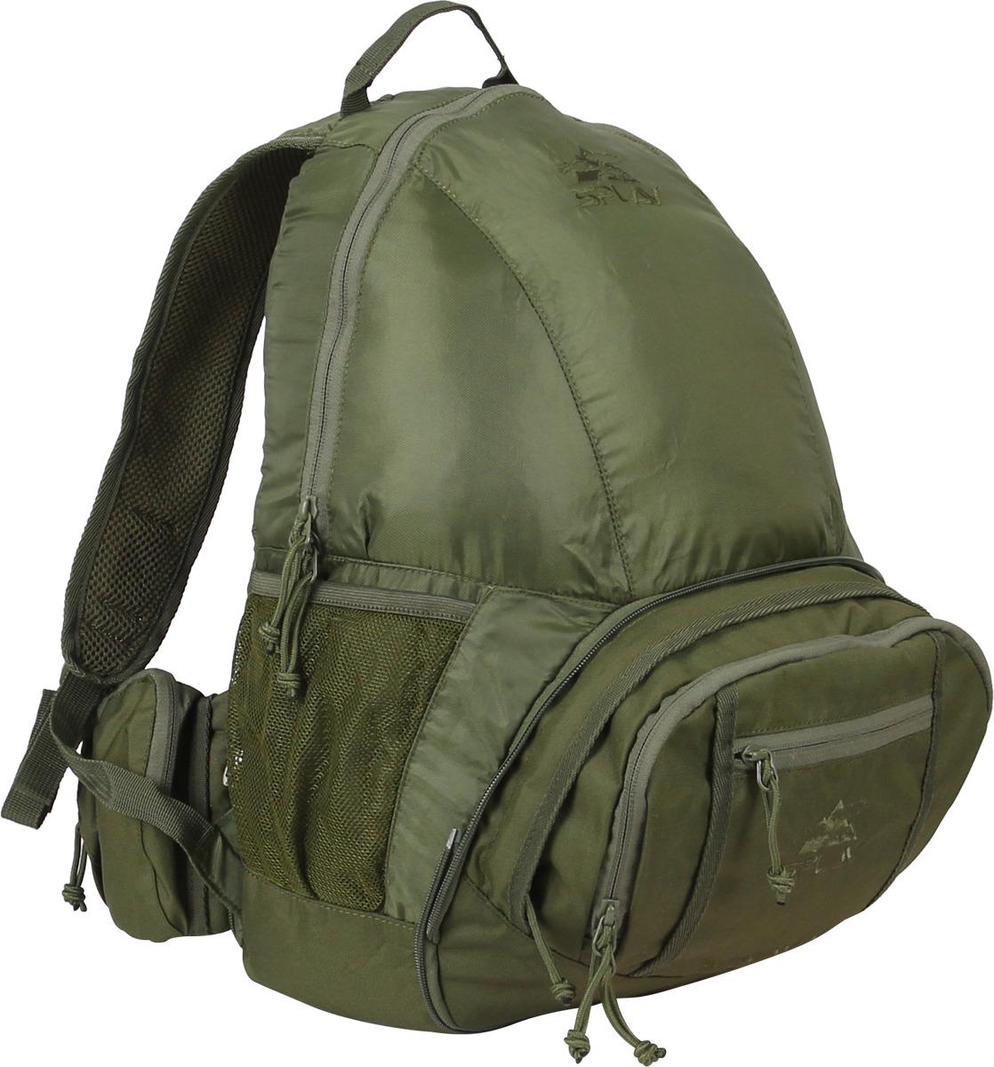 Рюкзак Сплав Stream, 5027450, зеленый т рюкзак punta cana