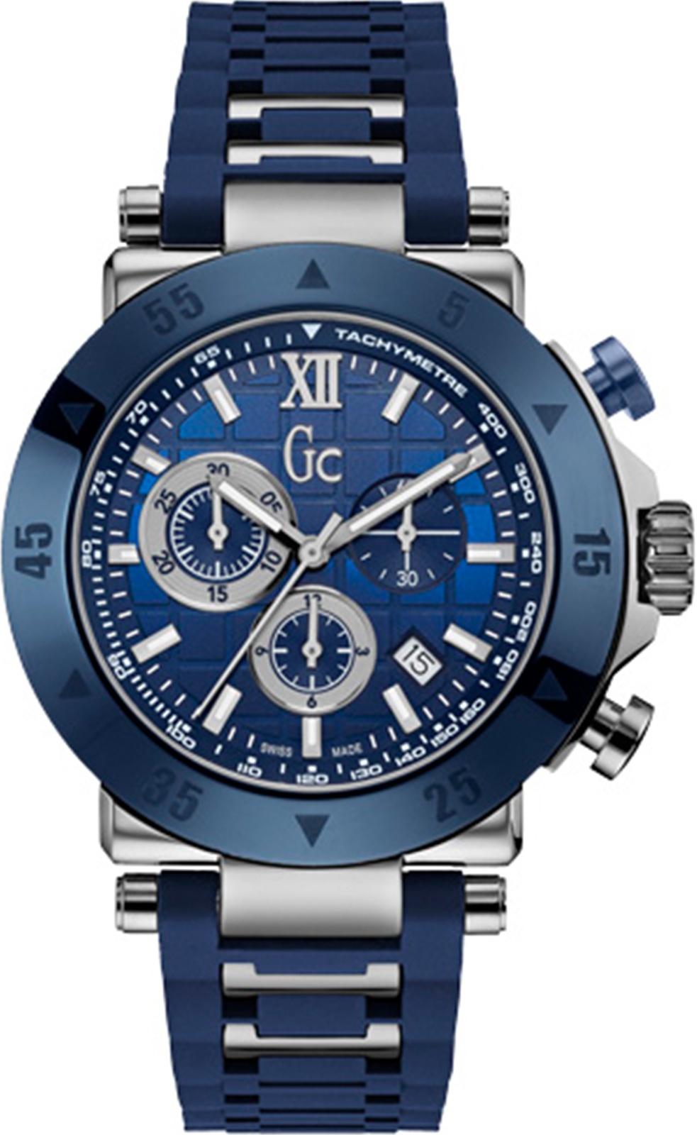 Часы GC Gc-1 Sport, синий, темно-синий, серебристый кошелек esse esse mp002xw19arz