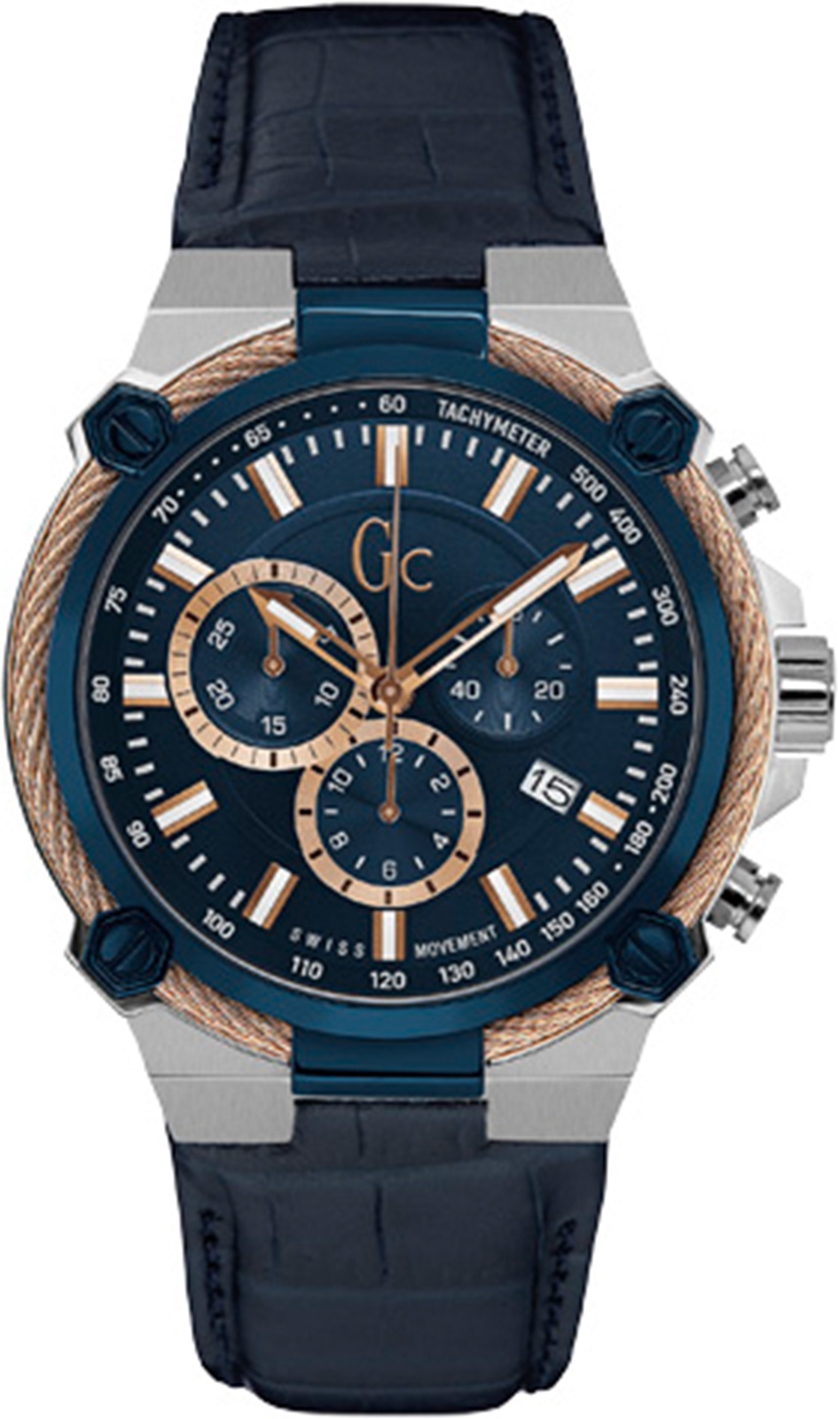 Часы GC CableForce, синий, темно-синий clothing loves синий синий