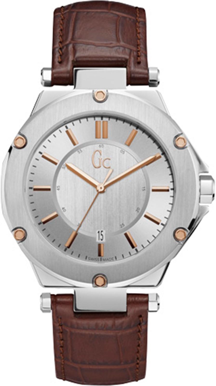 Часы GC Gc-3, коричневый цена