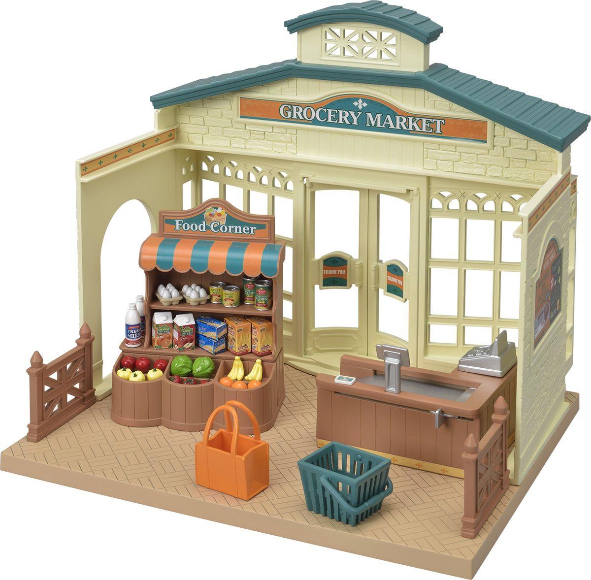 Игровой набор Sylvanian Families Продуктовый магазин