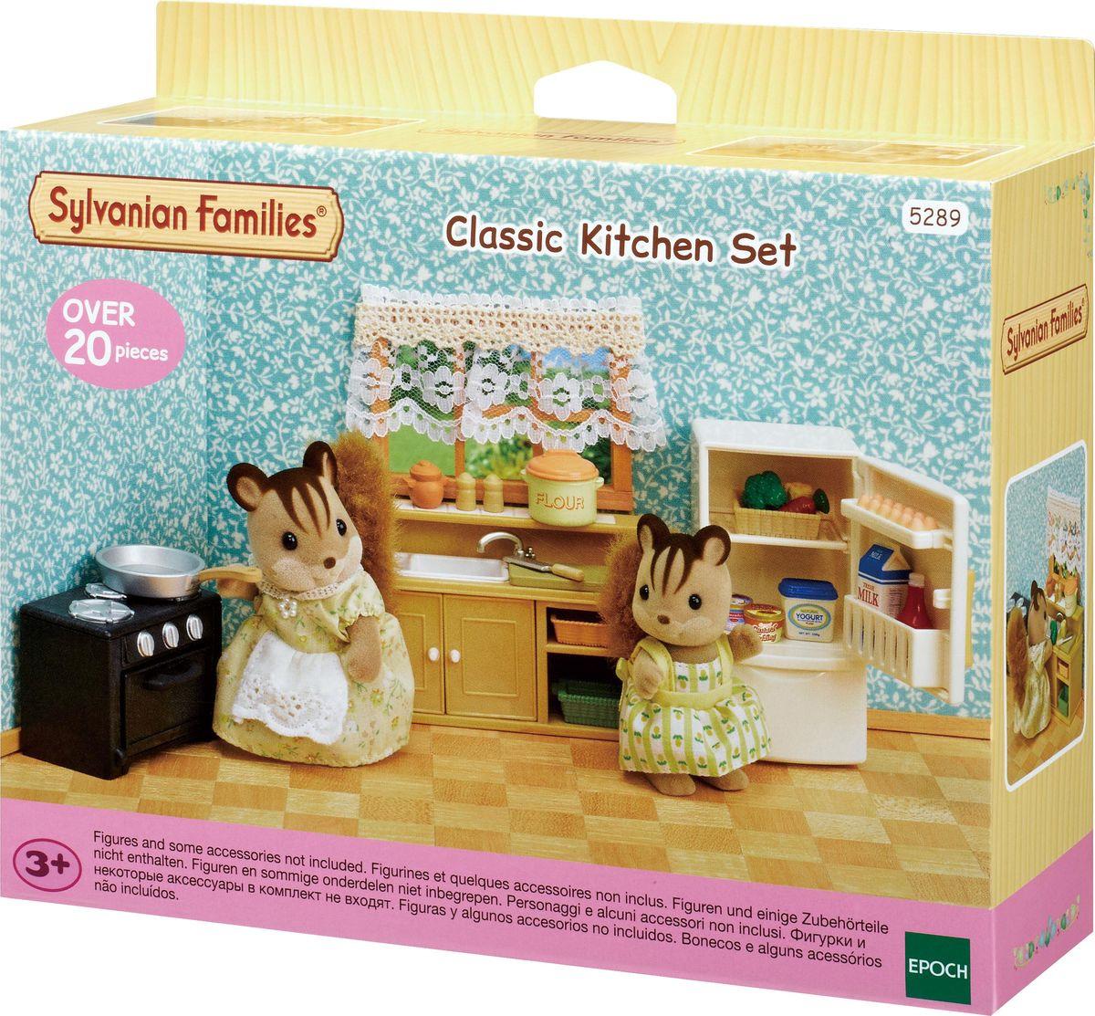 Игровой набор Sylvanian Families Кухня и холодильник