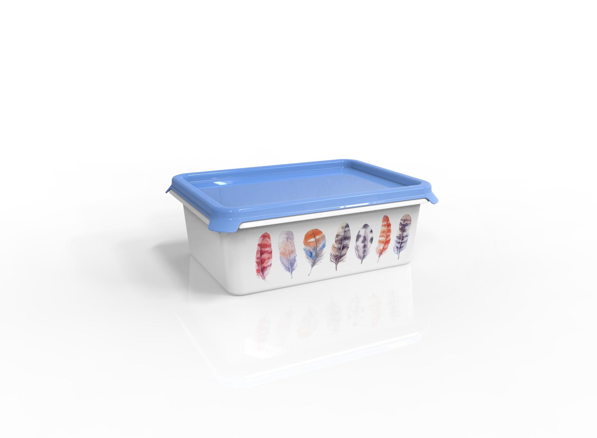 Контейнер для хранения вещей Berossi ИК 54361000, голубой контейнер для хранения вещей berossi ик 54233000 слоновая кость