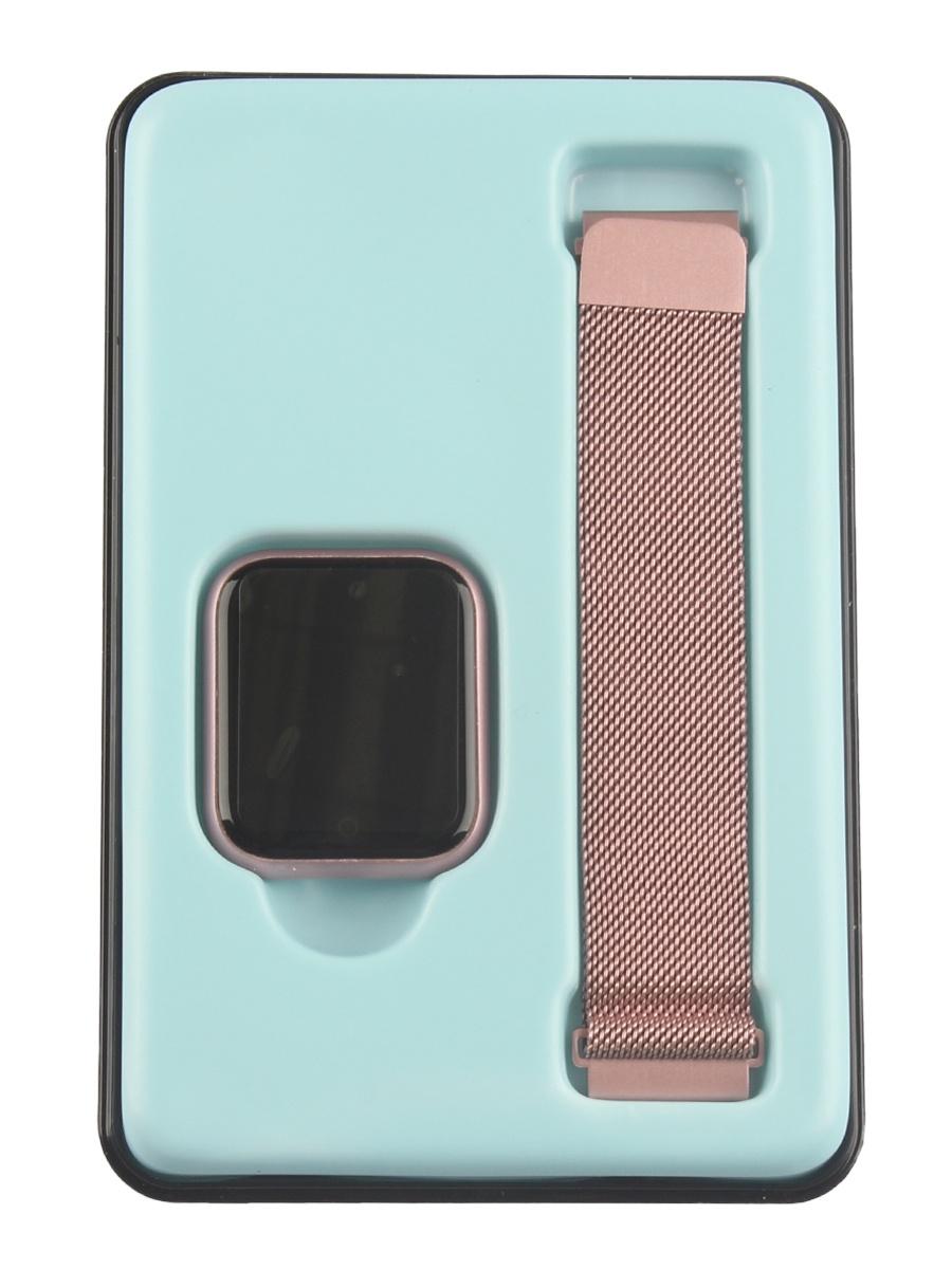Умные часы L.A.G. P70, розовый