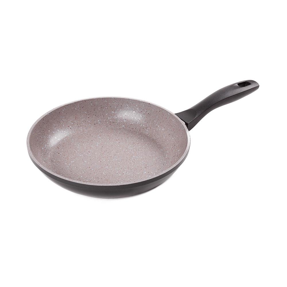 Сковорода Endever Stone-Grey-26, Алюминий, Пластик сковорода endever stone grey 26 26 см алюминий