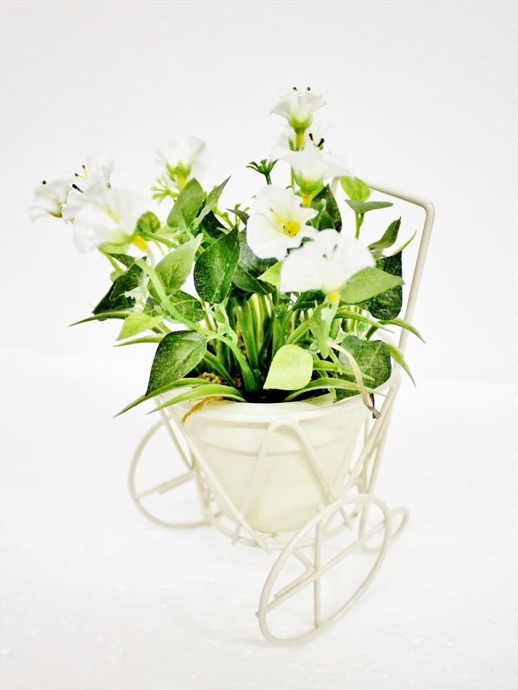 Искусственные цветы Coneko-decor Цветы искусственные в горшке 20 см 555428_white , 20 см искусственные цветы coneko 4 зеленый