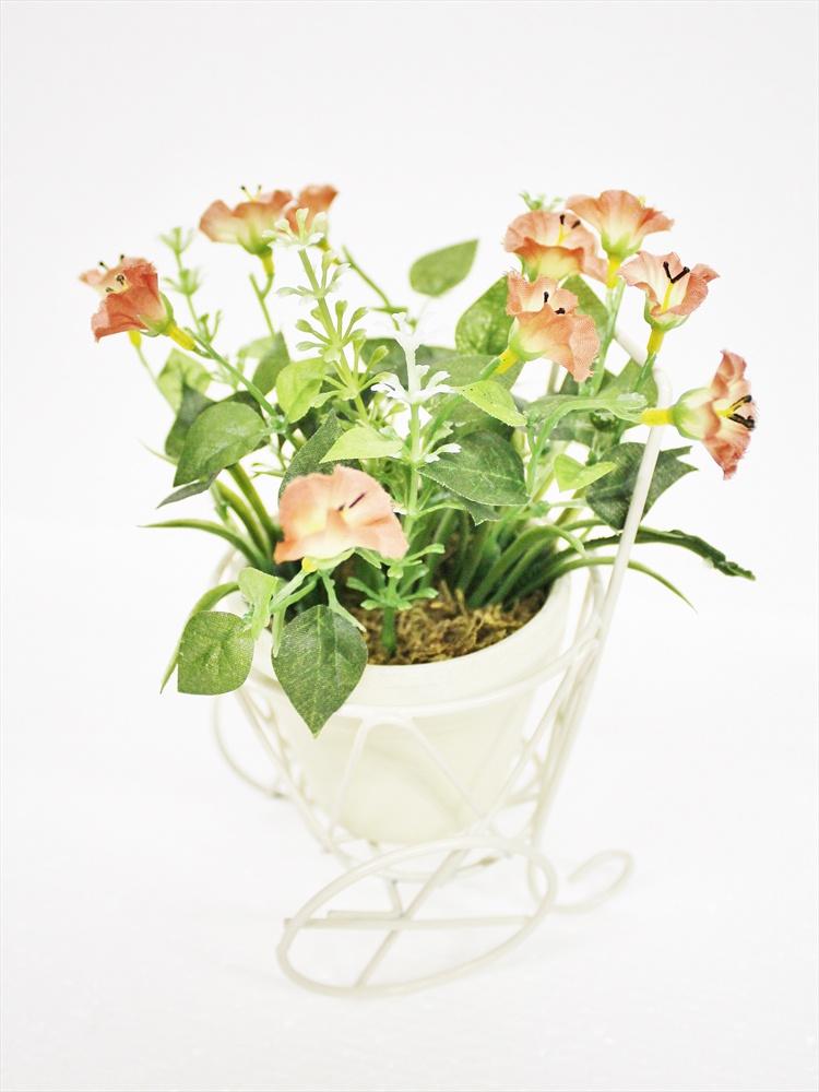 Искусственные цветы Coneko-decor Цветы искусственные в горшке 20 см 555428_brown , 20 см искусственные цветы coneko 4 зеленый