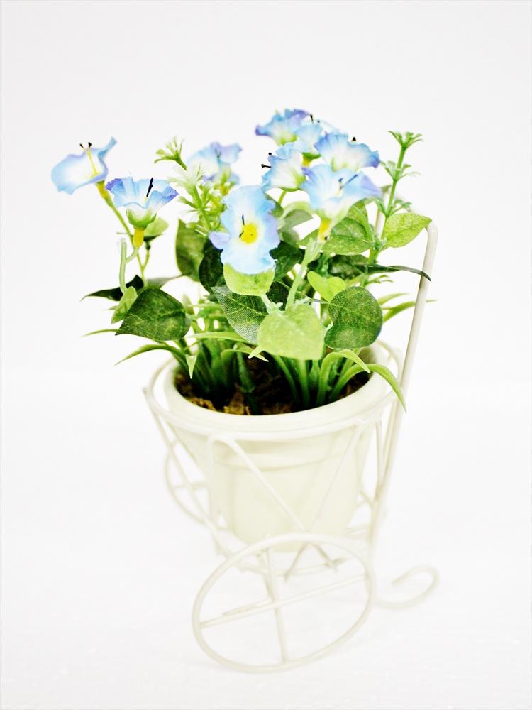 Искусственные цветы Coneko-decor Цветы искусственные в горшке 20 см 555428_lilac , 20 см искусственные цветы coneko 4 зеленый