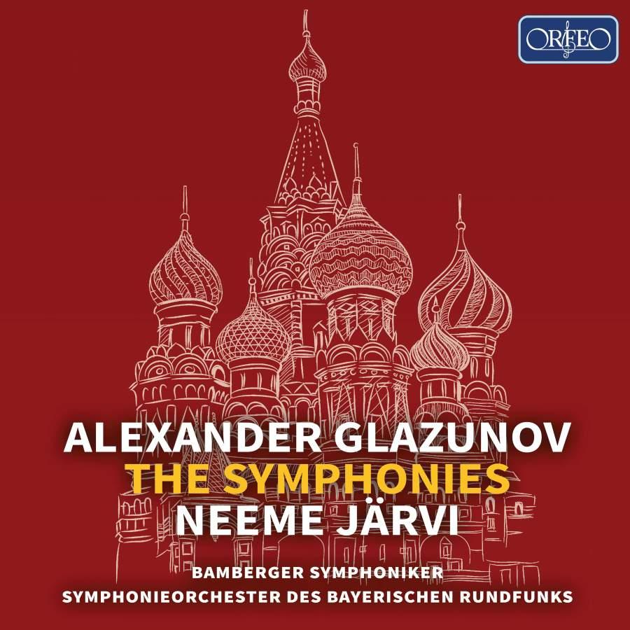 Alexander Glasunow. The Symphonies (5CD) j w jasykowa ilja glasunow