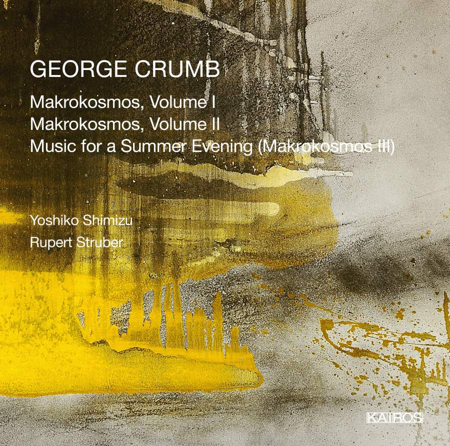 George Crumb. Makrokosmos, Vol. I (2CD) sandpiper crumb i little sea man white p 28 height 86 92 cm 4090464