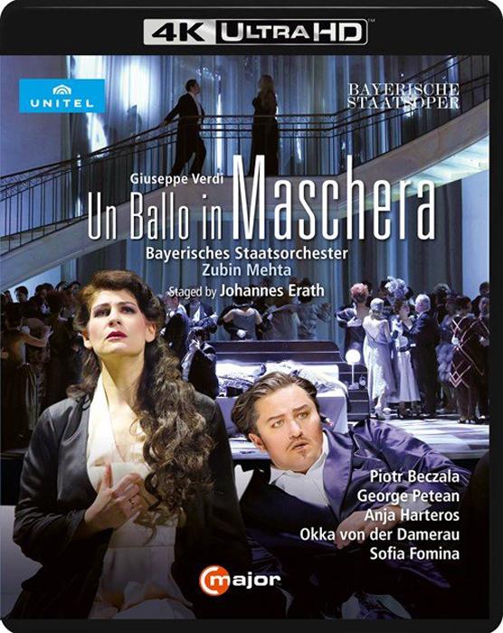 Giuseppe Verdi. Un Ballo In Maschera (Blu-ray) verdi james levine un ballo in maschera
