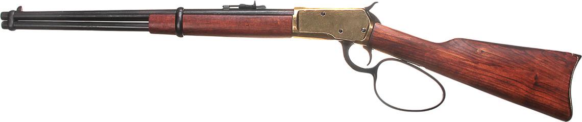Сувенирное оружие Denix Макет ковбойского карабина John Wayne, 1892 г., 16 ? 102 6 см
