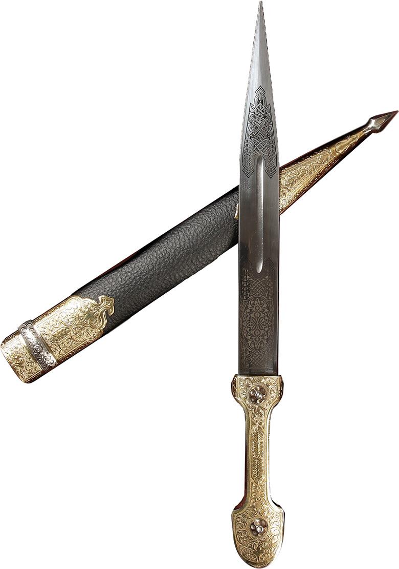 Кинжал сувенирный Ирбис №1, 2872919 сувенирное оружие кинжал гифтман 81010