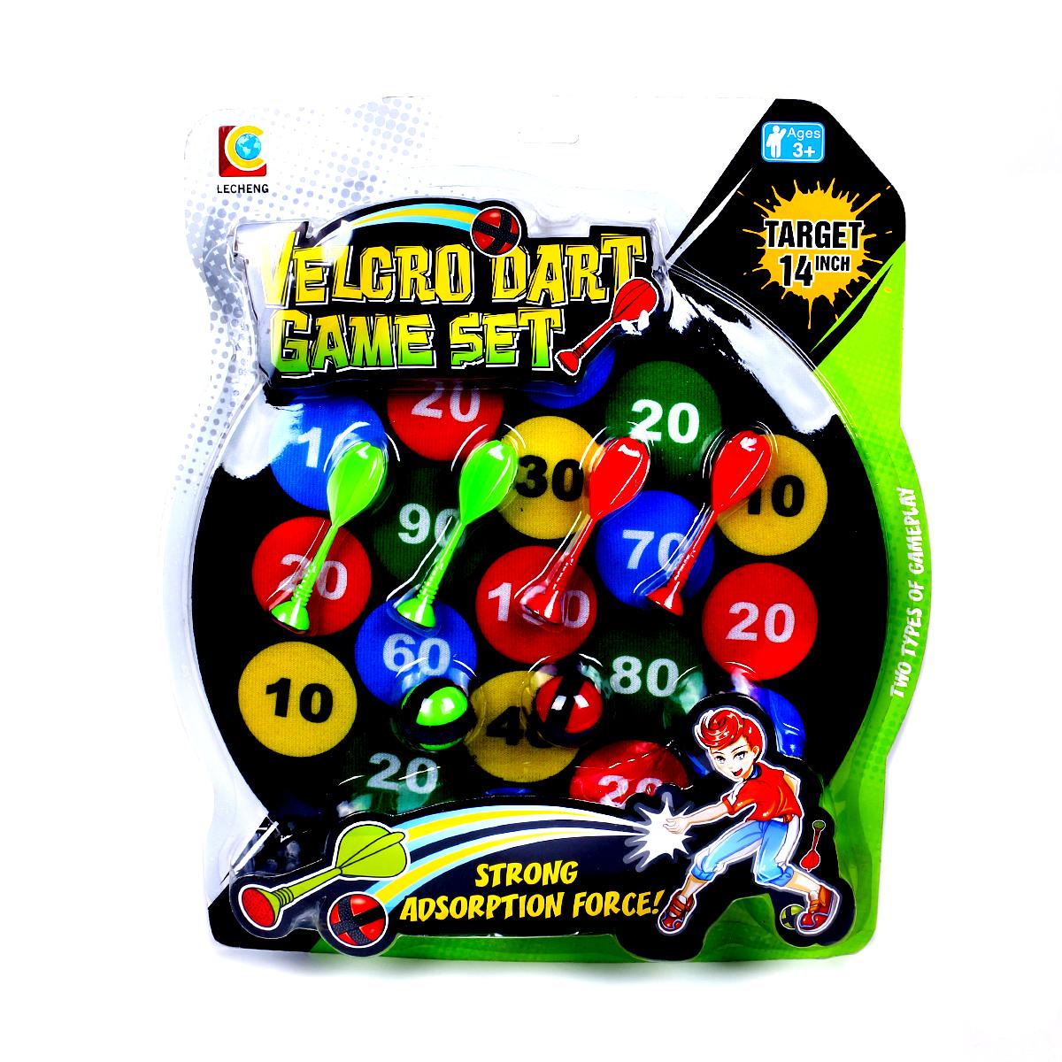 Набор для игры в дартс JT TOYS 36-9/, черный