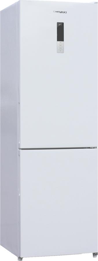 Холодильник Shivaki BMR-1851DNFW, двухкамерный, белый
