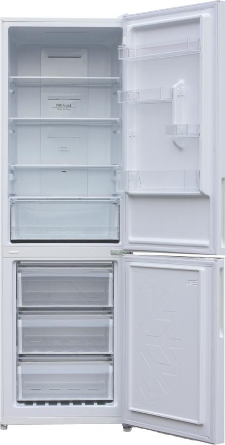 Холодильник Shivaki BMR-1851DNFW, двухкамерный, белый Shivaki