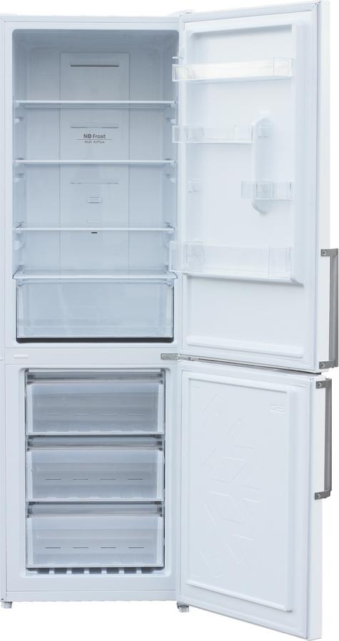 Холодильник Shivaki BMR-1852DNFW, двухкамерный, белый Shivaki