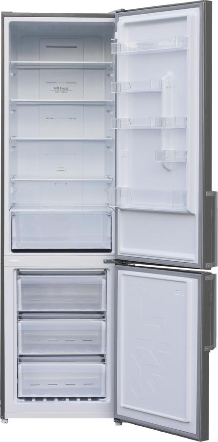 Холодильник Shivaki BMR-2018DNFX, двухкамерный, нержавеющая сталь Shivaki