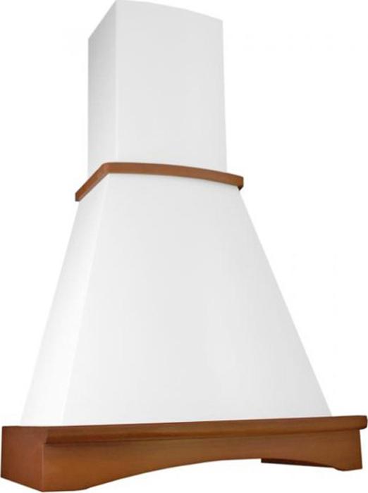 """Вытяжка каминная Elikor """"Ротонда"""" 60П-650-П3Л, бежевый/бук светло-коричневый"""