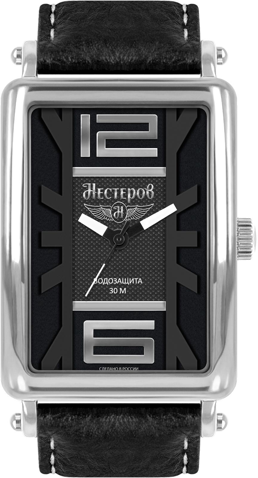 Наручные часы Нестеров H0264B02-05E часы классика мужские наручные