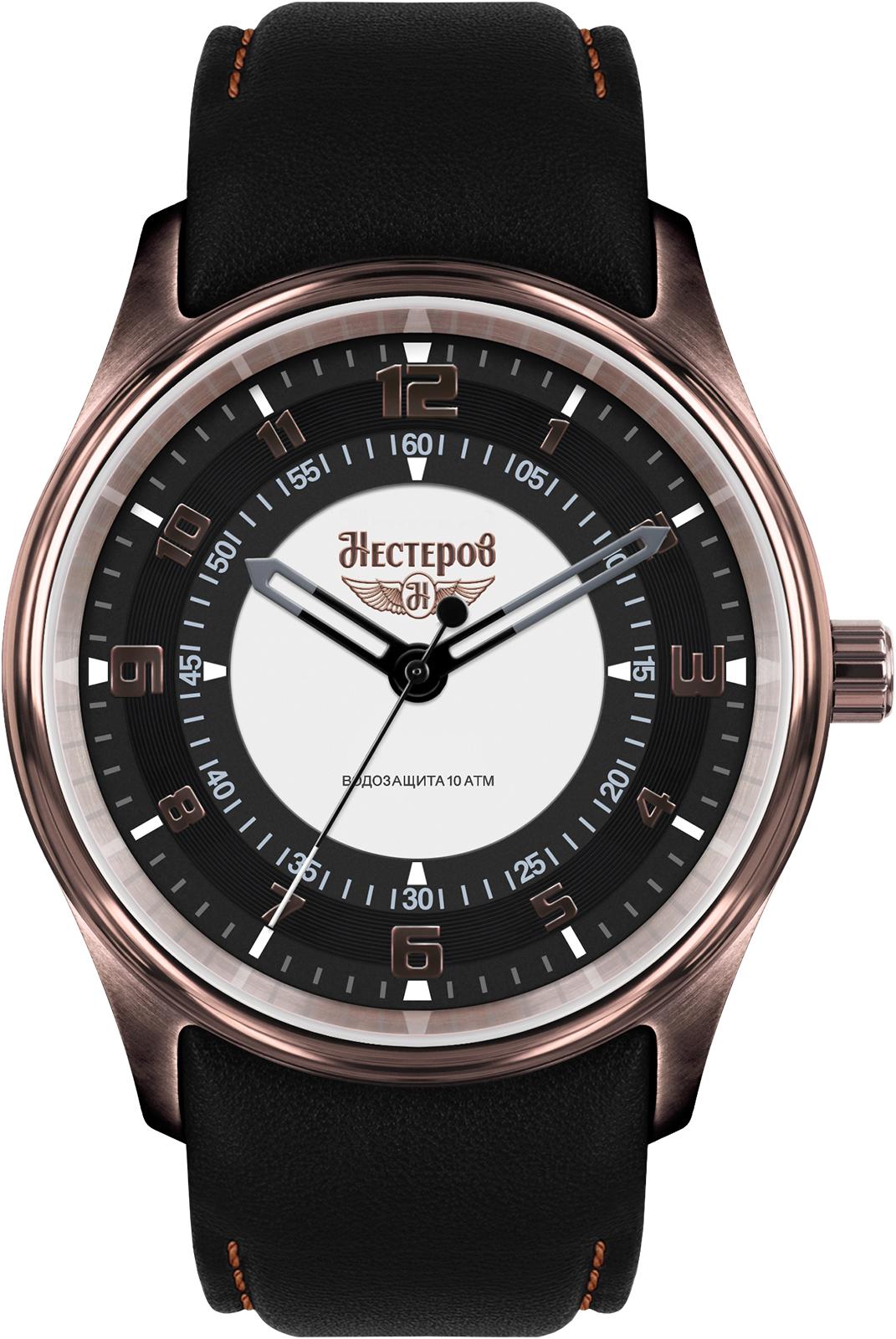 Наручные часы Нестеров H0273B72-05EBR наручные мужские часы тяжелые
