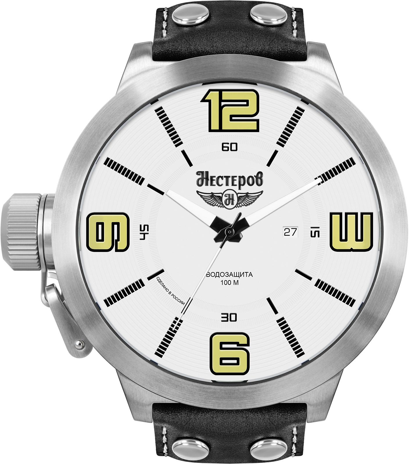 Наручные часы Нестеров H0943B02-05A наручные мужские часы тяжелые