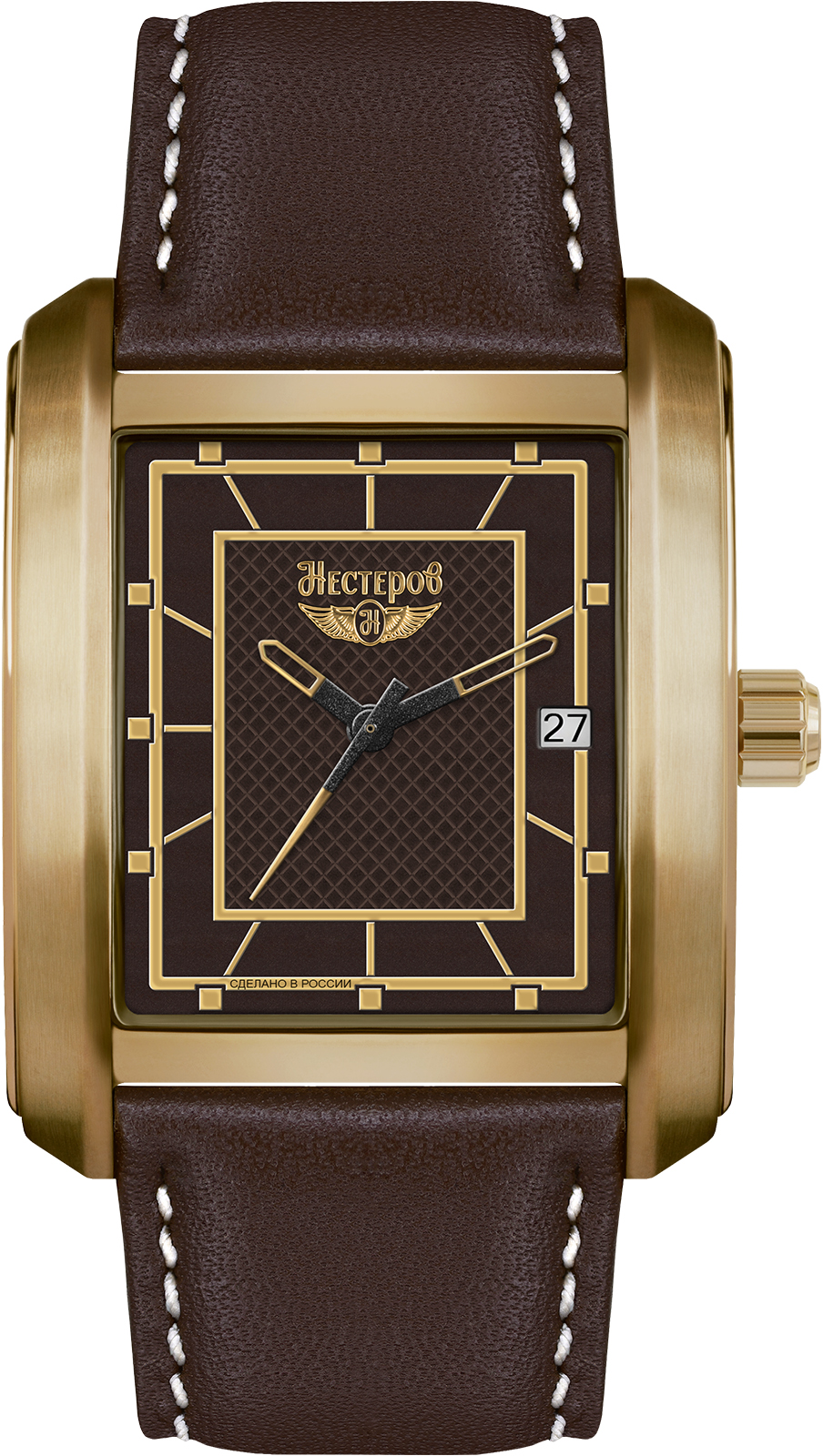 Наручные часы Нестеров H0958B12-16BR наручные мужские часы тяжелые