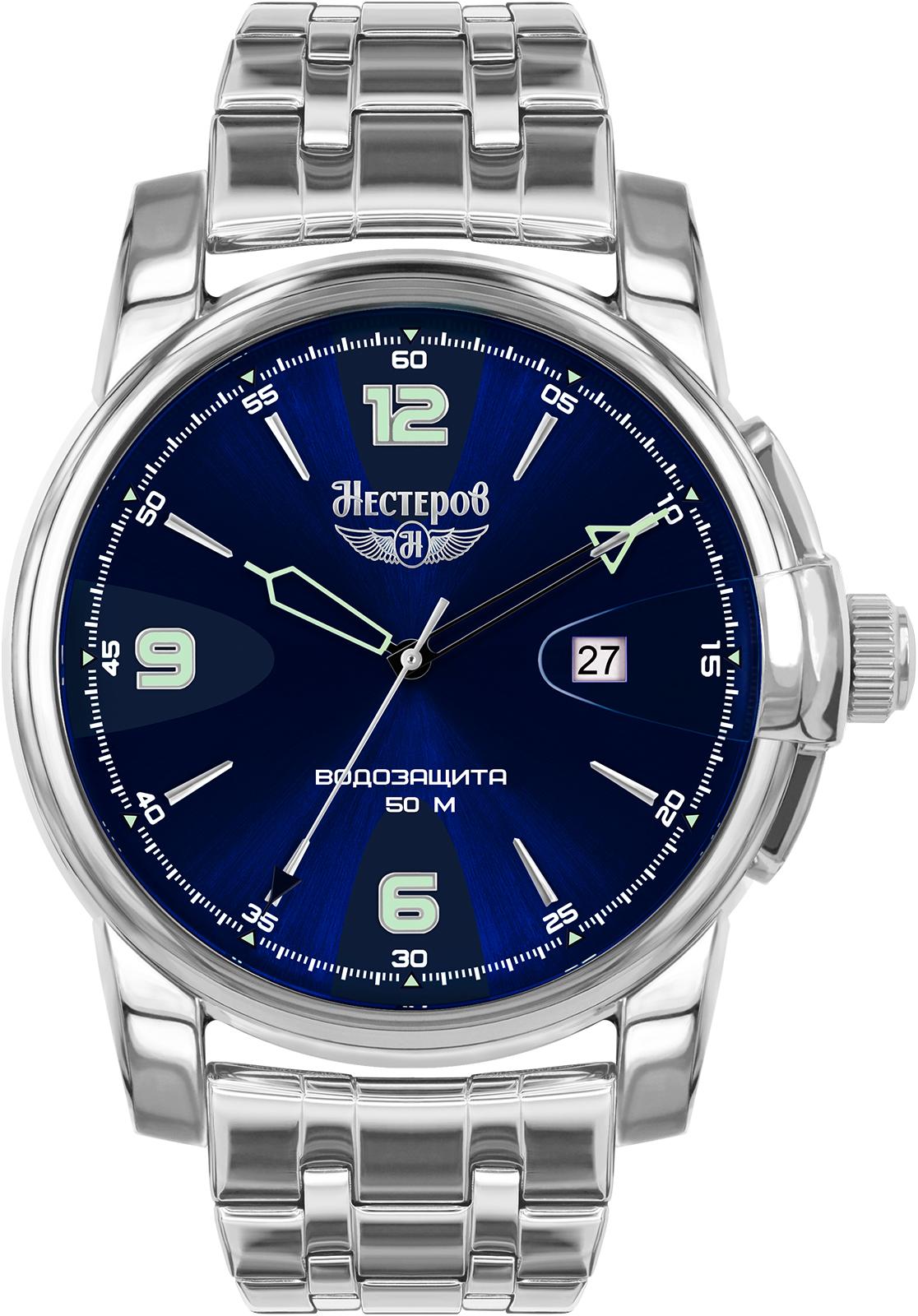 Часы Нестеров H0984B02-75B все цены