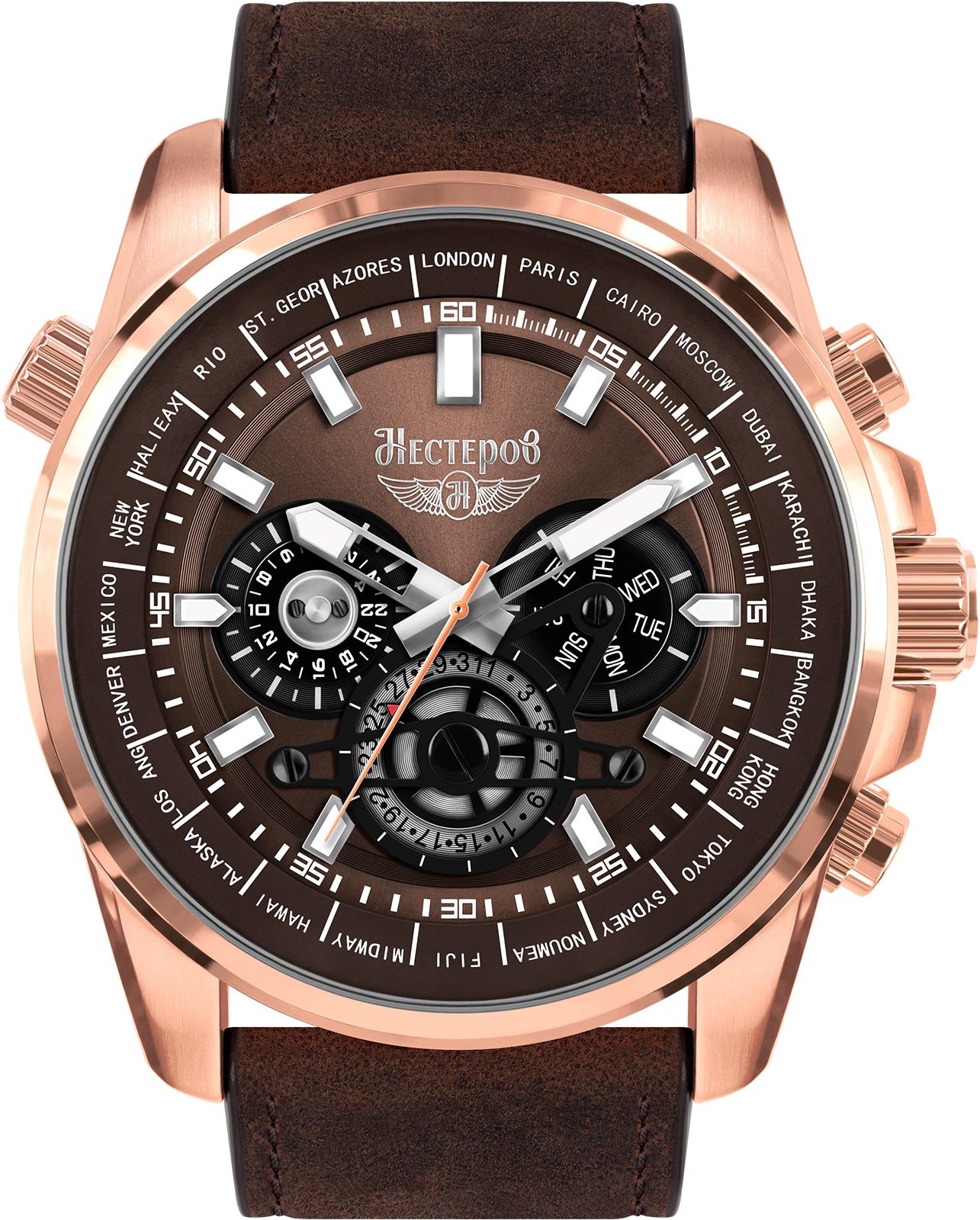 купить Наручные часы Нестеров H2491A52-132H по цене 21100 рублей