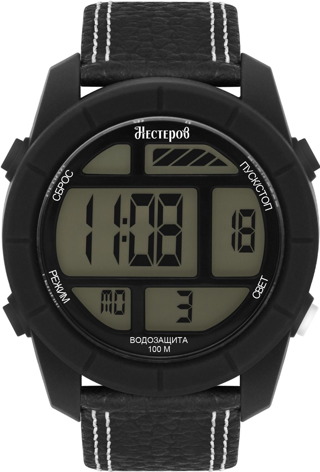 Часы Нестеров H2578A38-0EA, черный все цены